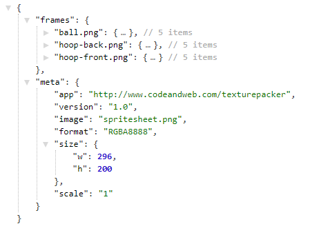 JSON example in web programming. It has many uses in web programming.