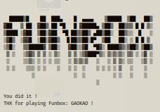 funbox gaokao walkthrough writeup vulnhub