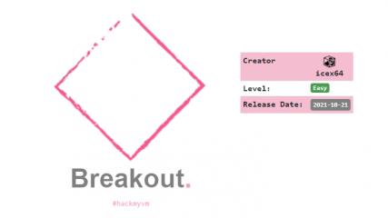 breakout walkthrough writeup hackmyvm security